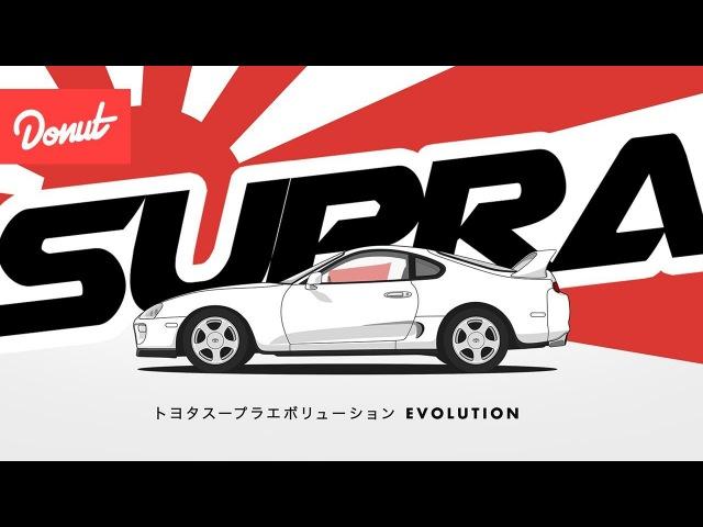 Эволюция Тойота Супра | Evolution of the Toyota Supra| Donut Media