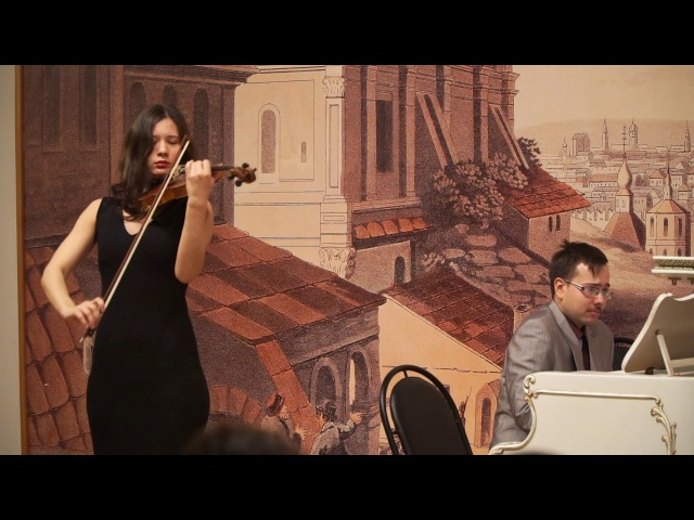 Б. Барток - Румынские танцы Александра Грибанова – скрипка, Роман Чистяков – фортепиано