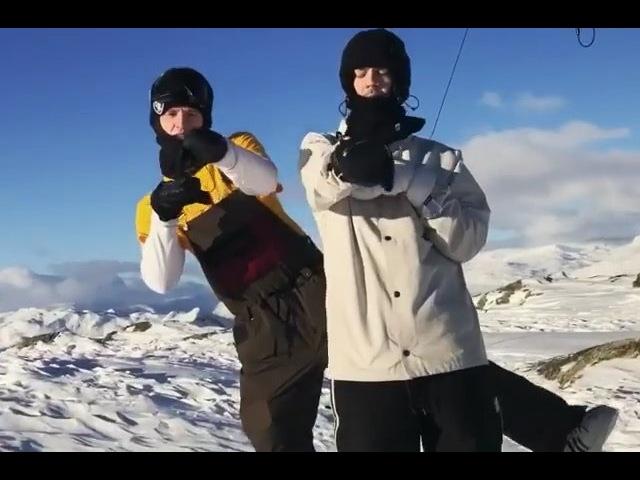 "FYVE Camps Snowboard Media on Instagram ""Norway 🇳🇴 crew @hytteguttta 🔫 w @jegsover got me hypnotized 🌀🌀🌀 📽 @aminklungseth snowboarding norway"""