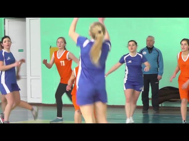 Женская команда ПолесГУ по баскетболу стала победителем городских соревнований