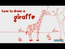 How to Draw a Giraffe Step by Step Guide Learn Drawing for Kids Kid Education by Mocomi Kids