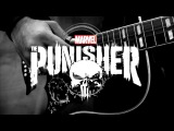 Frank's Choice THE PUNISHER Theme Fingerstyle Guitar Cover Tyler Bates