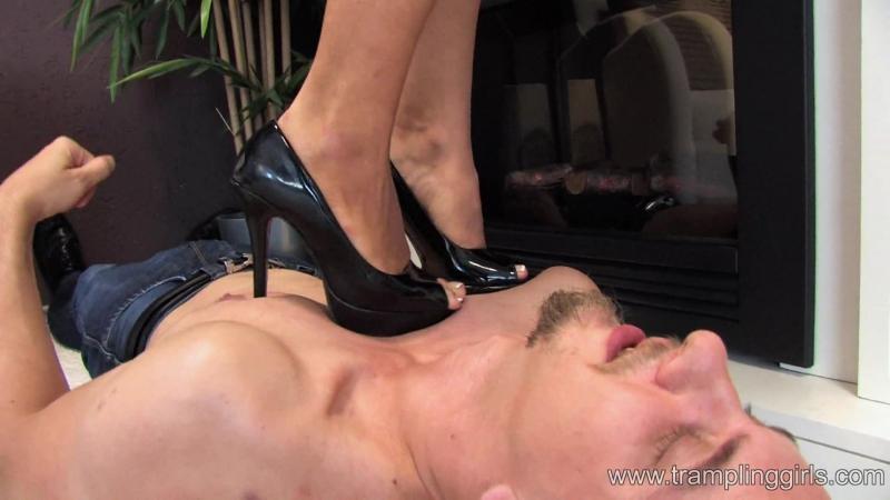 Trampling Girls Heels