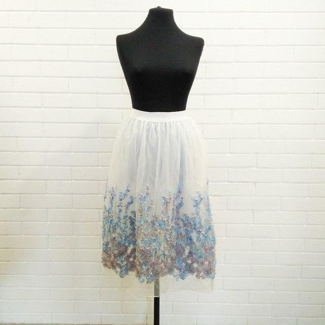 Воздушная юбка для романтичных барышень