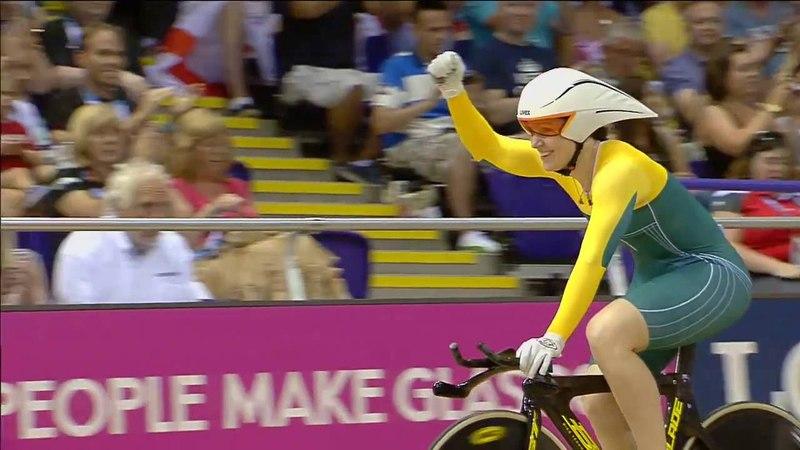 Игры Содружества 2014 Велоспорт Трек Женщины 500 м Анна Мирес Австралия Виктория Уильямсон Англия