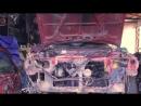запуск красного Ниссана после переборки двигателя