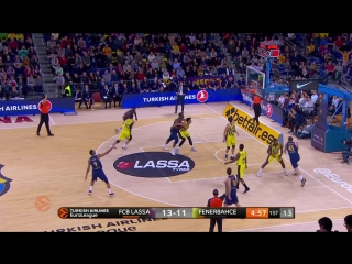 Barcelona 68 : 83 Fenerbahce. Обзор(Баскетбол.Евролига 8.12.2017)