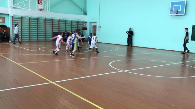 20.01.18 Баскетбол. Юноши 2008. Богородское - Сергиев Посад (14