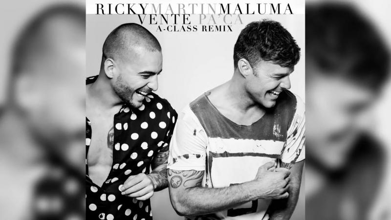 Ricky Martin - Vente Pa Ca (A-Class Remix)[Audio] ft. Maluma