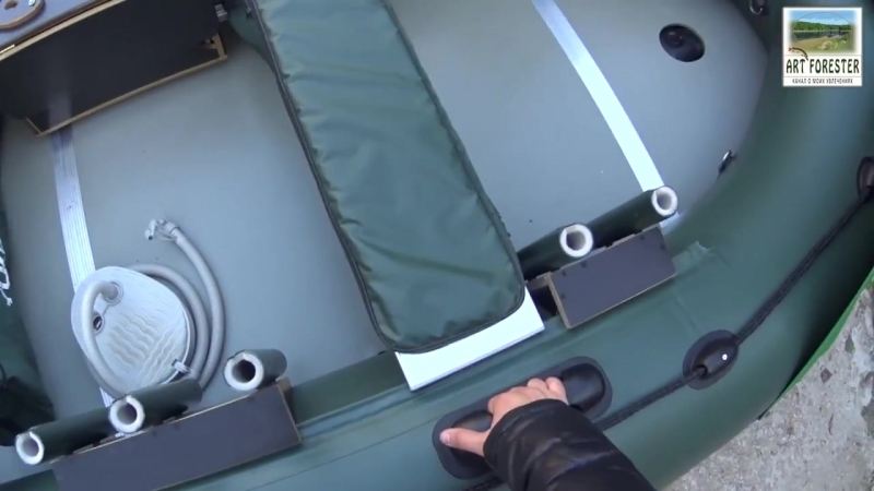 Обзор моторной лодки Yukona 360 TS