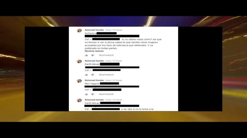 Dross promueve el cyber acoso
