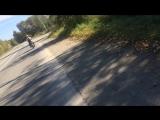 Велосипед против мопеда