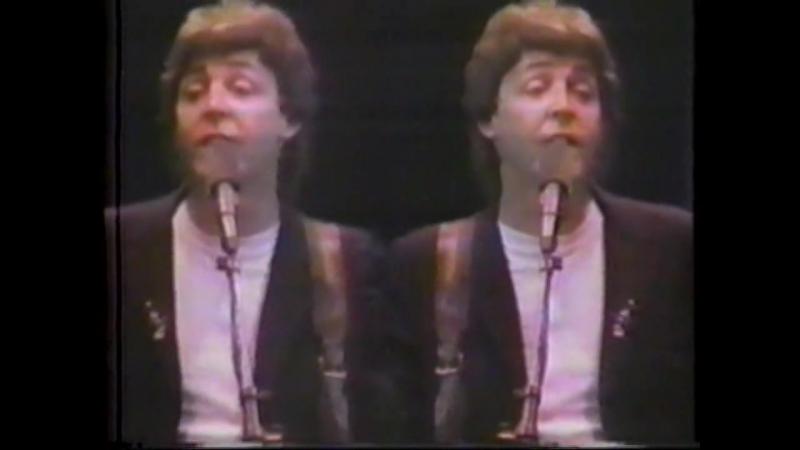 Paul McCartney Wings Every Night 2 7 Rock for Kampuchea 1981 U S TV Version Night Flight