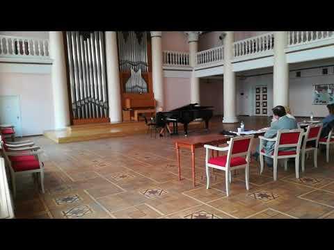 Milla Gavrilova - Liszt Three Concert Etudes S.144 No.3 Un Sospiro