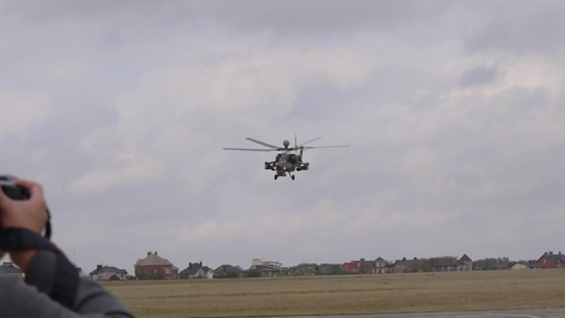 Видеоиллюстрация «Ми-28УБ»