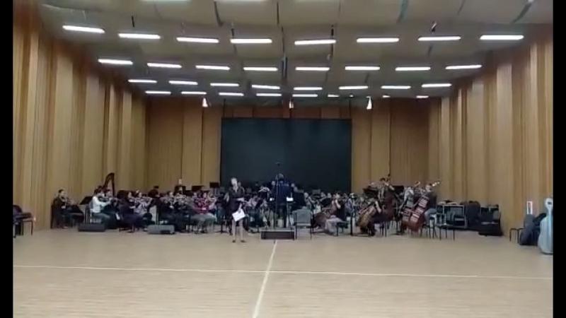 куньмин репетиция с оркестром