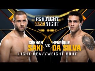 Fight Night Japan Gokhan Saki vs Henrique da Silva
