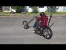 【海外バイク】 絶対乗りづらい 極悪チョッパーバイク 【心意気】