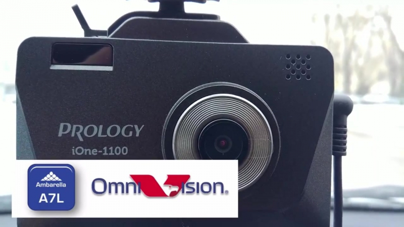 Обзор Prology iOne 1100 комбо устройство 3в1 видеорегистратор с радаром и GPS