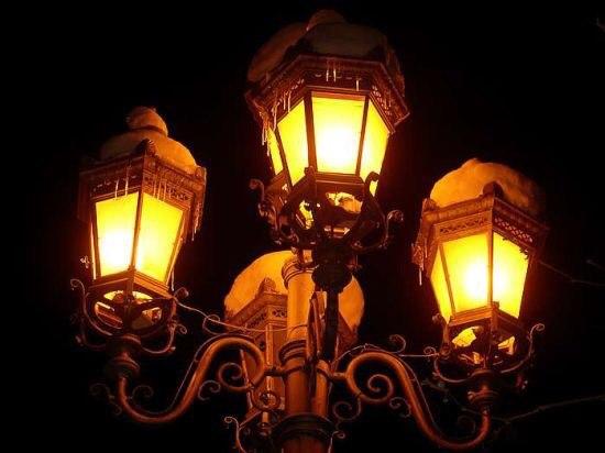 История уличных фонарей