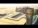 Мегасооружения - Падающая башня . ОАЭ . Абу - Даби .