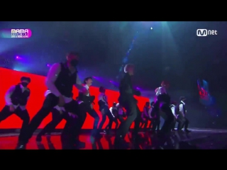 171201 BTS - BTS Cypher 4 + MIC Drop (Steve Aoki Remix Ver.) @ MAMA 2017