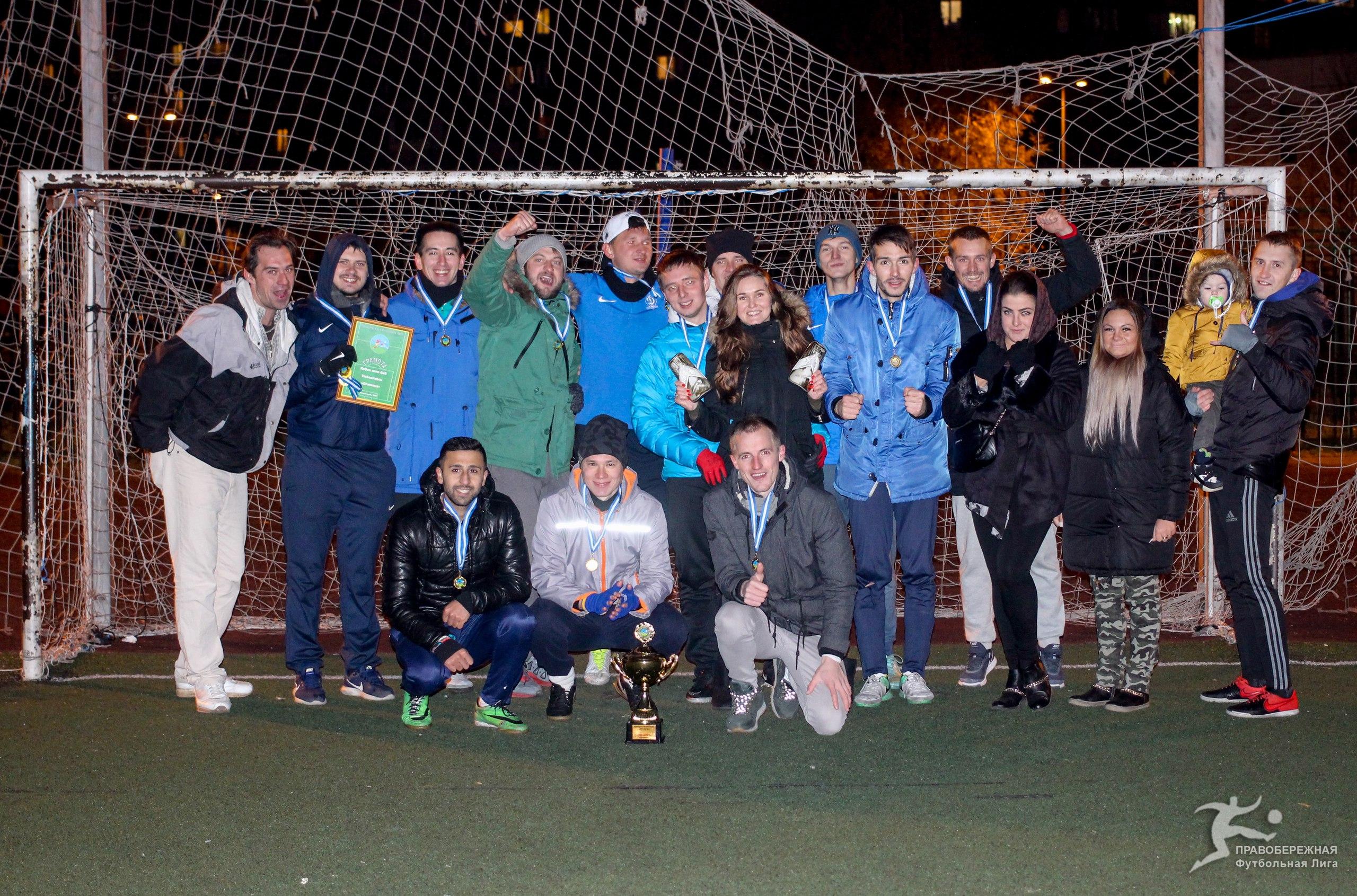 «Дружина» - победитель Кубка лиги 6х6 в сезоне 2017!