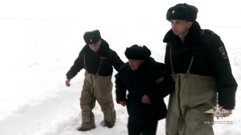 Спасение дедушки в Эртильском районе