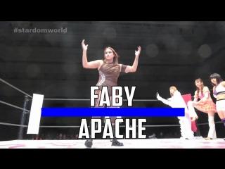 Faby Apache, Mary Apache & Natsumi vs. Natsuko Tora, Saki Kashima & Shiki Shibusawa - Stardom Dream Slam In Nagoya