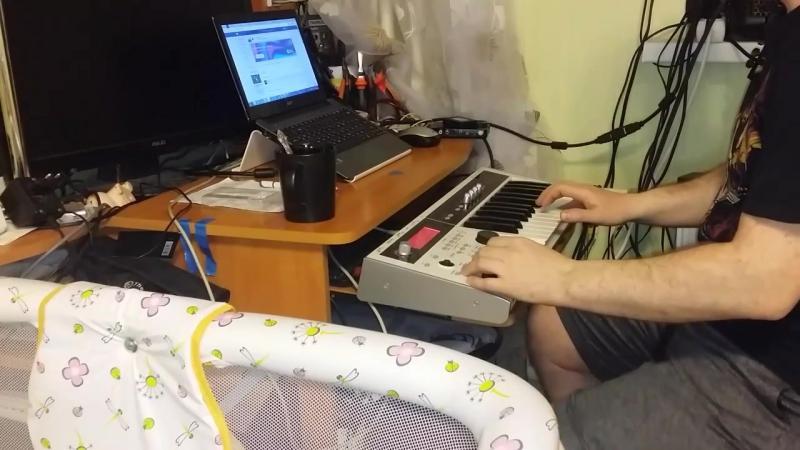 ReznikSAR Земфира - Искала Violin Korg MicroX
