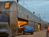 Мегасооружения. Тоннель под Ла Маншем. Как проезжают автобусы и поезда через море