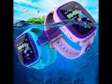 Водонепроницаемые детские умные GPS часы-телефон Wonlex Smart Baby Watch GW400S