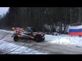 Борис Гадасин и Дан Щемель на G-Force Барсе открыли ралли