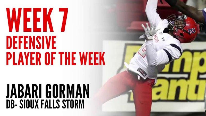 Week 7 Defensive Player of the Week: Jabari Gorman