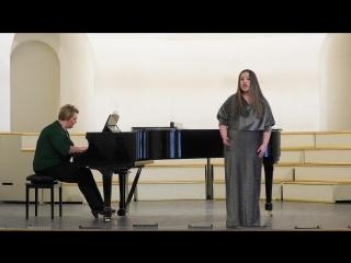 Бернстайн «Piccola Serenata» Перова Вероника
