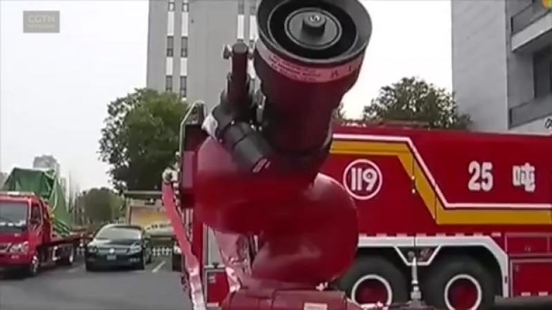 Пожарные-роботы из Китая