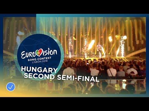 AWS Viszlát Nyár Hungary LIVE Second Semi Final Eurovision 2018