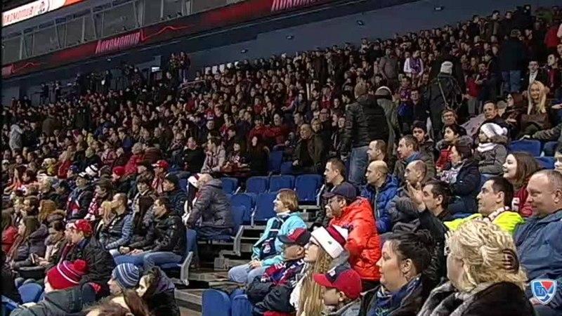 Моменты из матчей КХЛ сезона 14/15 • Гол. 3:6. Пайгин Зият (ХК Сочи) забрасывает шайбу в ворота соперника 31.01