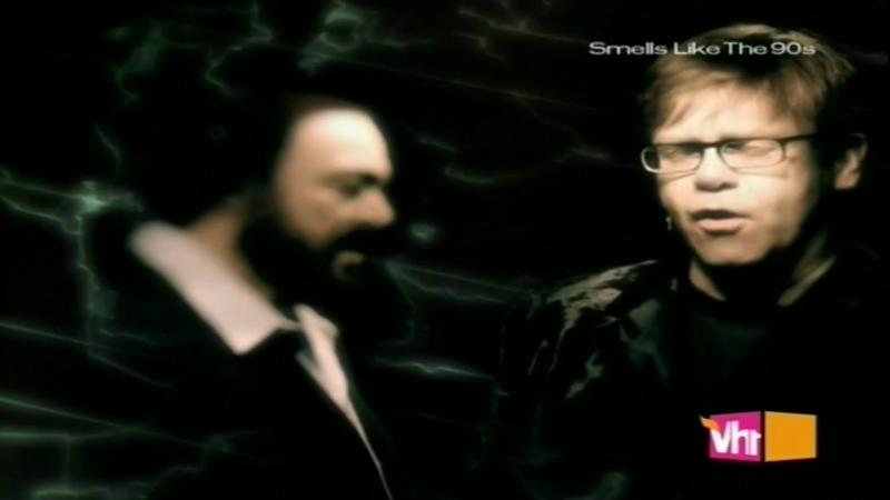 Elton John - Live Like Horses (With Pavarotti) [1996]