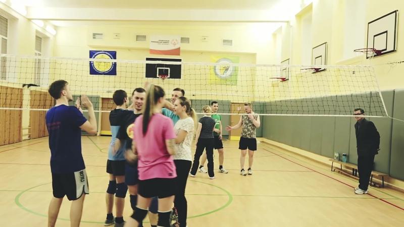 Волейбол по пятницам
