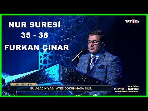 Kur'an ı Kerim'i Güzel Okuma Yarışması Hafta Finali Furkan Çınar