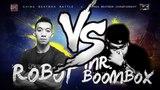 ROBOT(CN) VS MR.BOOMBOX(KR) Best 16 Golden Beatbox Battle Vol.2