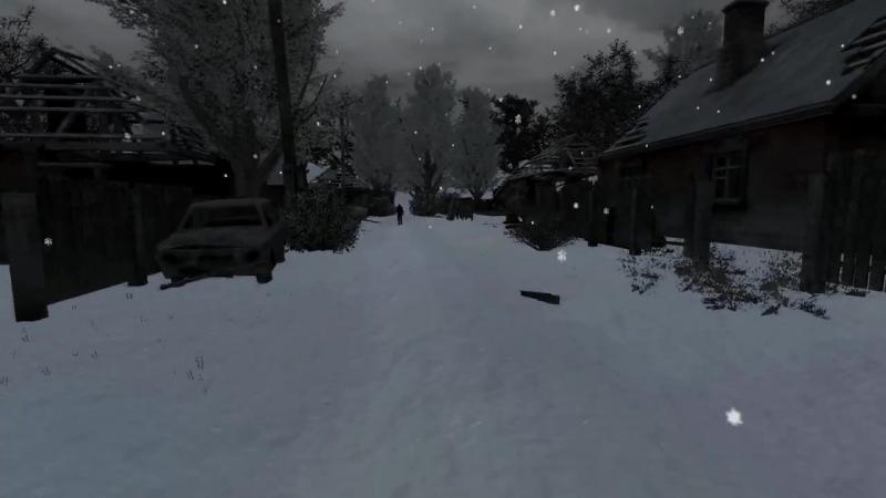 зима в зоне