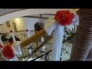 красная свадьба с белыми цветами2 оформление свадьбы Владивосток