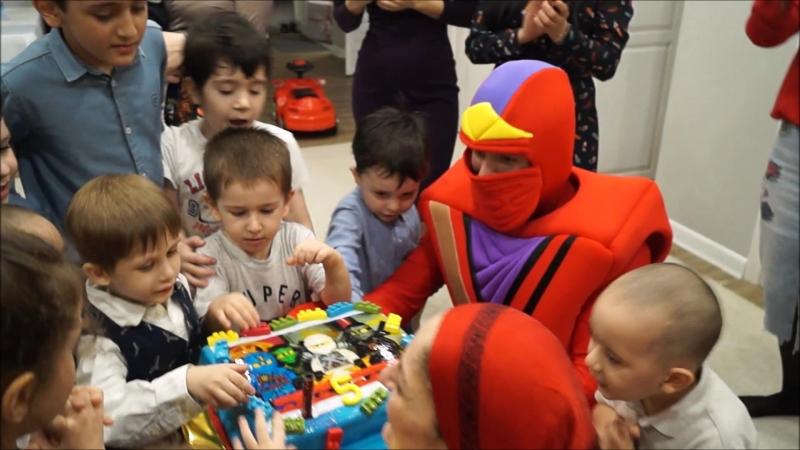Лего Ниндзяго Кай в гостях у Зияутдина