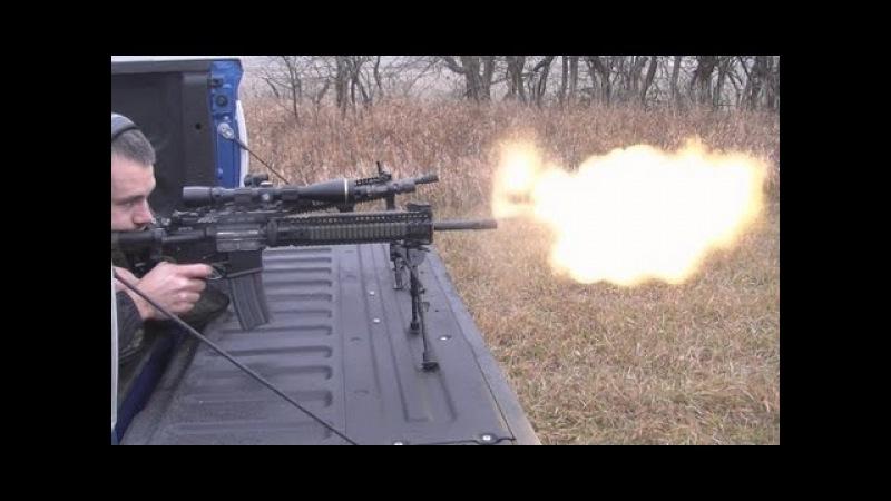 BattleComp 2.0 vs ST Dynacomp - Low Light Muzzle Flash