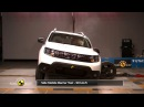 Краш-тест | Dacia Duster (Euro NCAP)