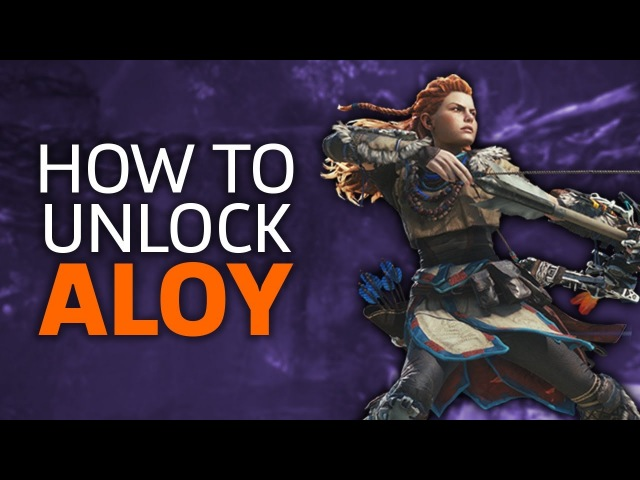 How To Unlock Aloy's Armor And Bow In Monster Hunter World
