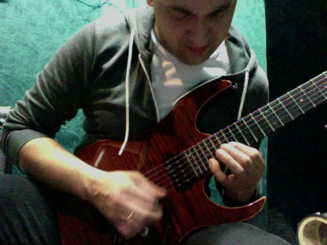 Metallica - Enter Sandman (solo web cam)