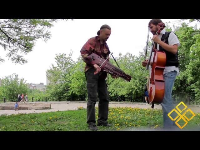 Polska in Kiev (swedish trad) - Шведська Полька - Шведская полька (Nyckelharpa and Cello)